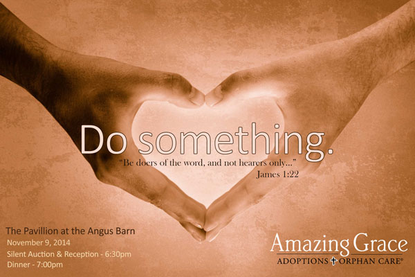 amazing Grace adoptions fundraiser